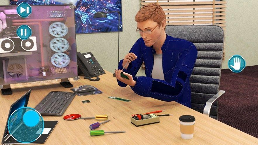 PC維修店模擬器3D游戲截圖