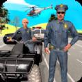警察骑车追捕游戏
