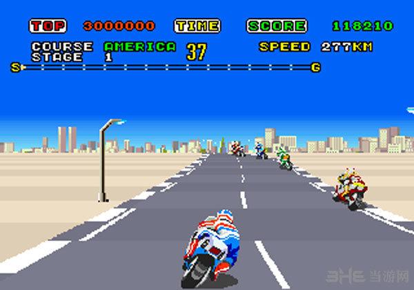 超级摩托车街机日版