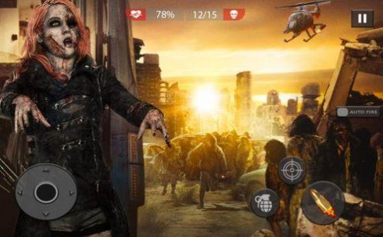僵尸射擊生存3D游戲安卓版游戲截圖