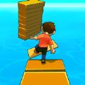 搭木板过桥