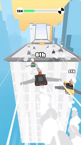 屋顶飞车竞速