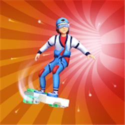 滑板穿越世界