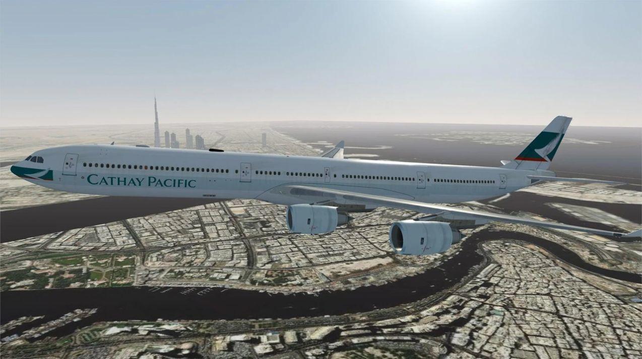 飞行模拟器2021游戏截图