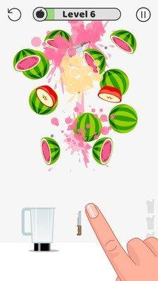 快刀切水果