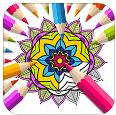 曼陀罗填色彩绘