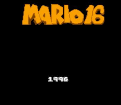 马里奥16代