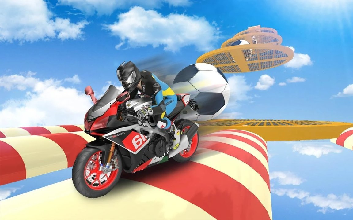 不可能的摩托车轨道破解版