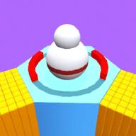 彩色滚球3D
