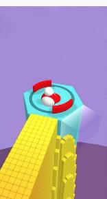 彩色翻滚3D