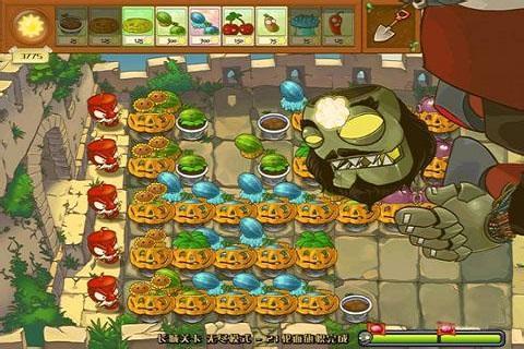 植物大戰僵尸長城版