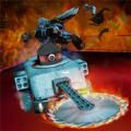 机器人车战摔跤游戏