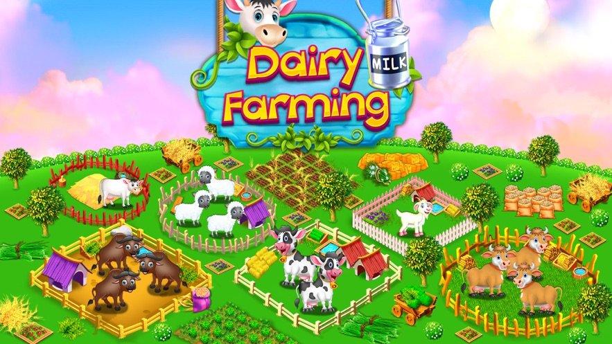 虛擬奶牛養殖