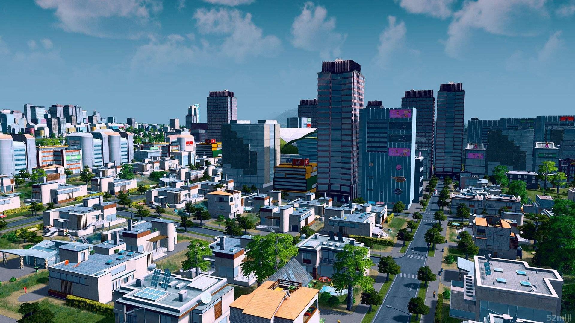 城市天際線紅綠燈mod