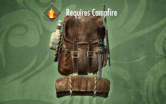 上古卷軸5營火的背包mod