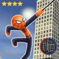 城市绳索蜘蛛侠游戏