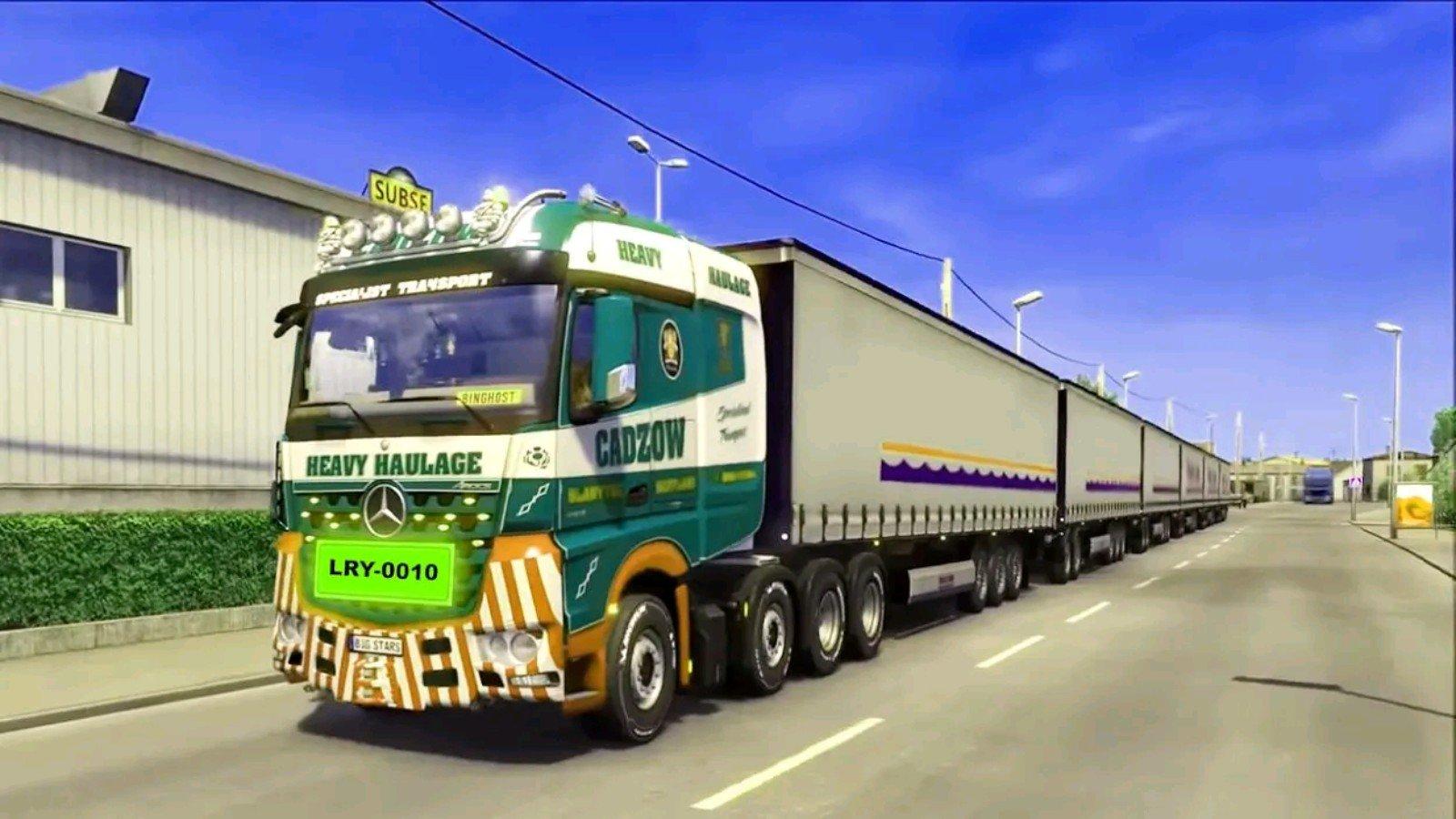 公路卡车模拟驾驶