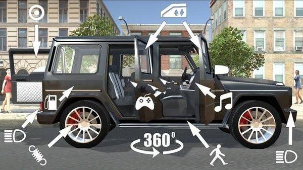 奔驰轿车模拟器游戏截图