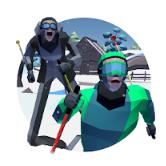 长腿滑雪比赛