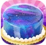 梦幻星空蛋糕