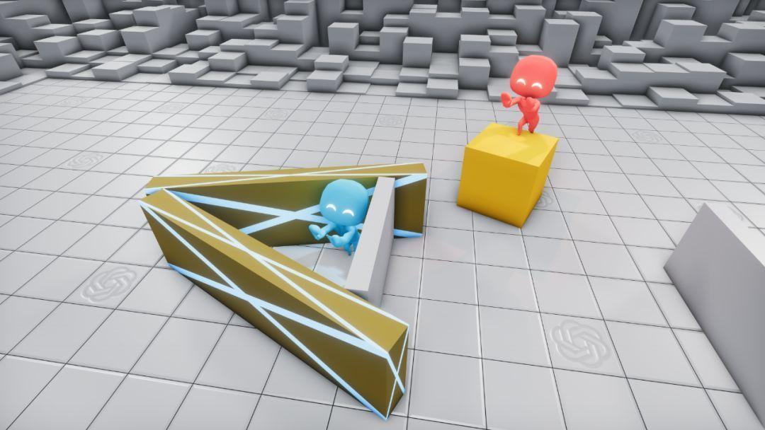 AI躲猫猫模拟器