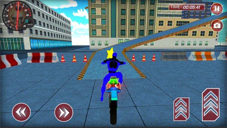 不可能的英雄自行車