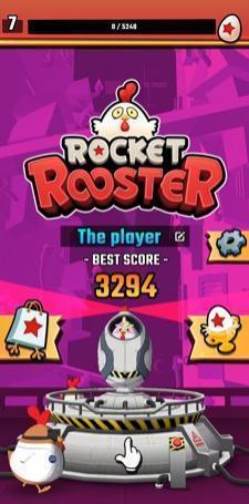火箭公雞這是一款趣味十足的休閑益智小游戲