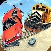 火車與撞車比賽