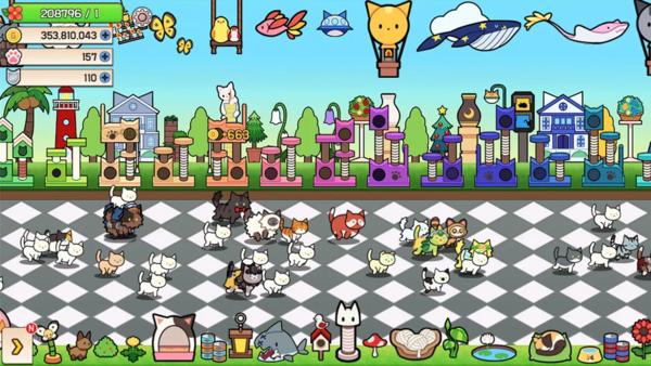 猫语花香中文版一款拥有萌系可爱风格的宠物养成手机游戏