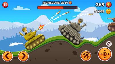山丘坦克战2