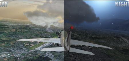 模拟机长飞行