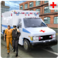 警方救护车救援游戏