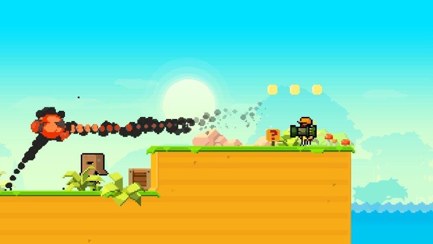 蘑菇岛的枪战