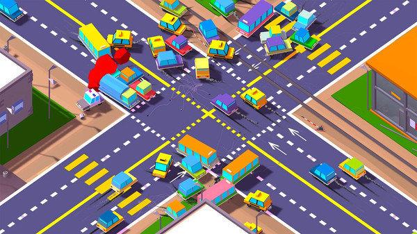 交通大混战