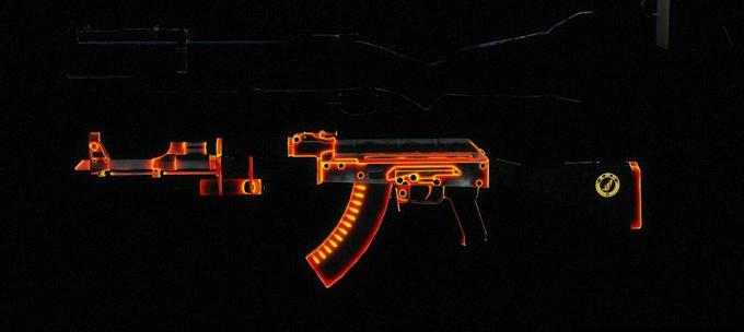 求生之路2AK-47熾熱突擊步槍mod