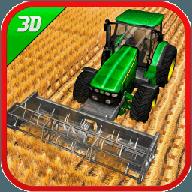 綠色農場拖拉機模擬器