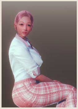 AI少女端庄女数据包