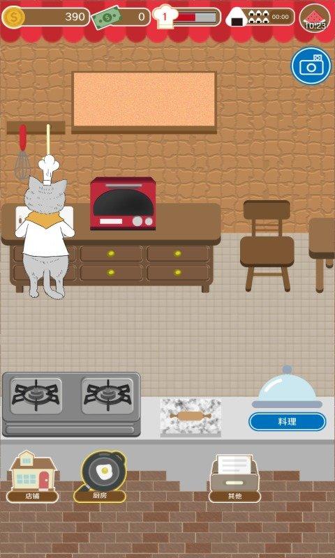 疯狂猫咪甜品店游戏游戏截图