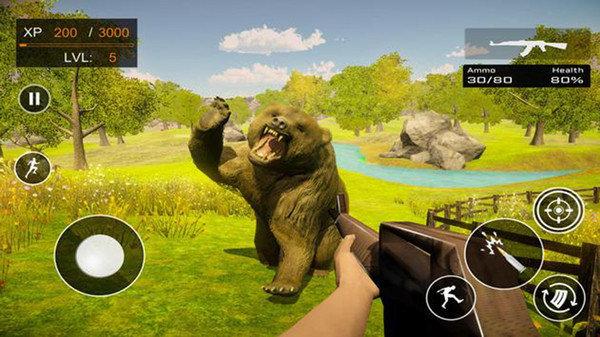 野生動物狩獵3D游戲截圖