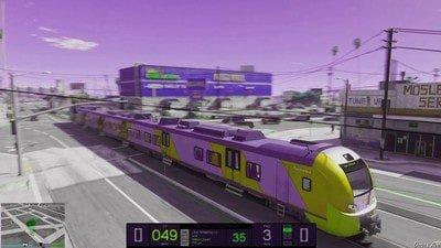 地下鐵駕駛模擬器游戲截圖