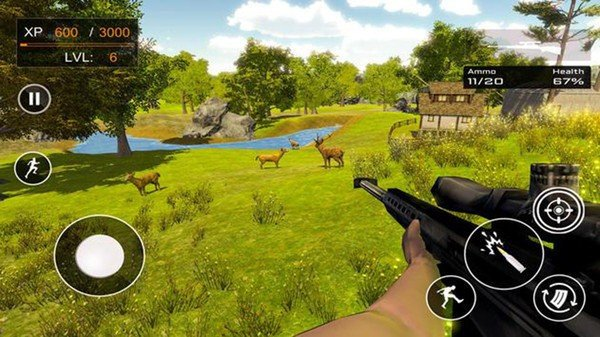 野生动物狩猎3D