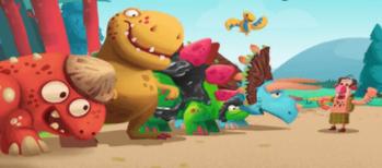 恐龍大戰原始人截圖