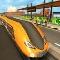 橙线地铁列车