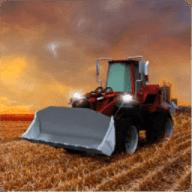 农业拖拉机3D
