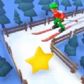 蜿蜒滑雪游戏