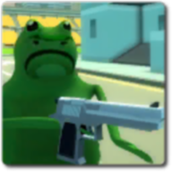 搞怪的青蛙模拟器
