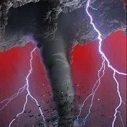 龙卷风袭击区