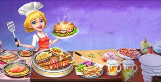 勾起你食欲的美食游戏
