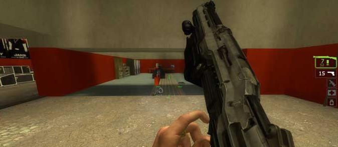 求生之路2光暈4M45D散彈槍mod