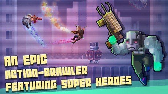 超级英雄格斗俱乐部游戏截图